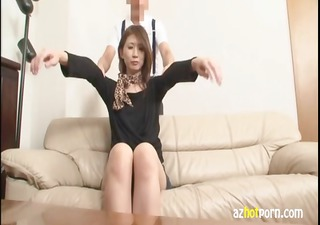 hot japanese step mom gets an erotic massage from