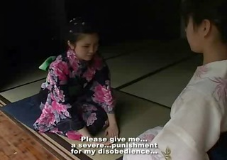 japan beauty punish by her mum