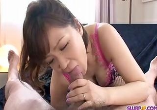 oriental pov blowjob with hawt large tit