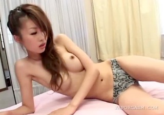 oriental hairy wet pussy wide widen in close-up